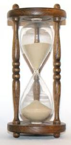 Like sands through the hourglass....